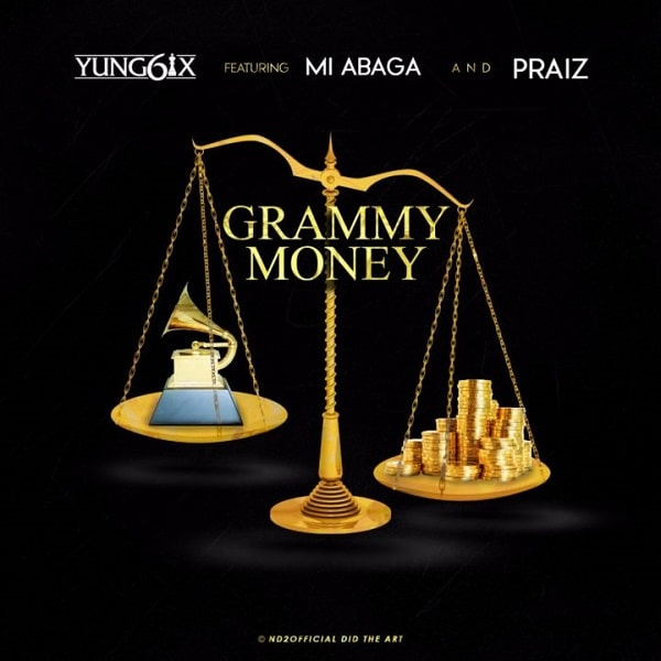 Yung6ix Grammy Money Artwork