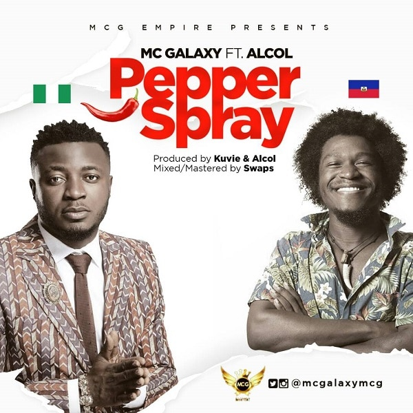 MC Galaxy Pepper Spray