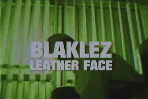 Blaklez Leather Face Video