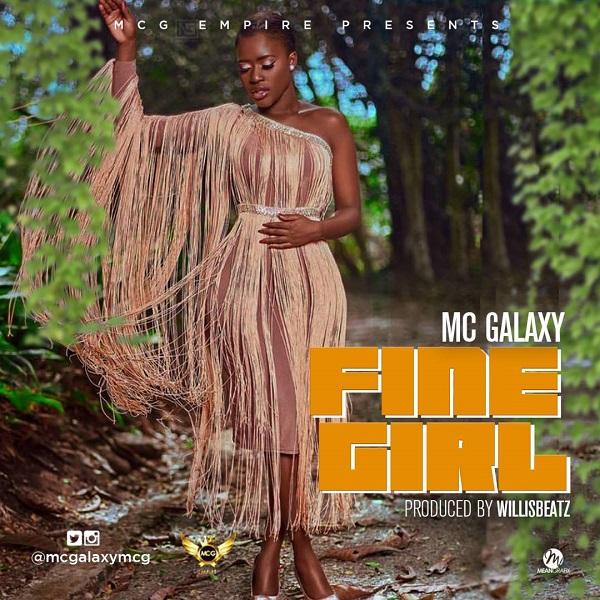 MC Galaxy Fine Girl Artwork