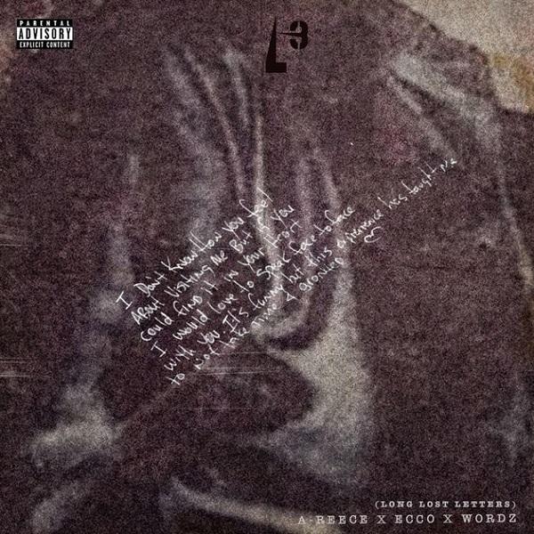 A-Reece, Wordz & Ecco Long Last Letters Album Artwork
