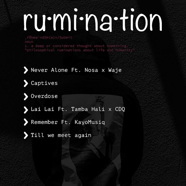 Masterkraft Rumination EP Tracklist
