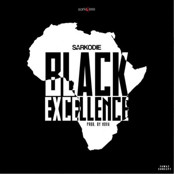 Sarkodie Black Excellence Artwork