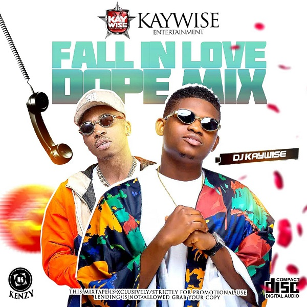 DJ Kaywise Fall In Love Dope Mix Artwork