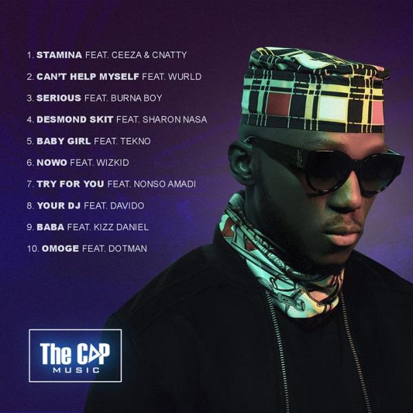 Spinall Iyanu Album Tracklist