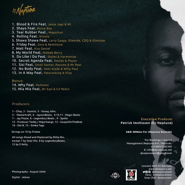 DJ Neptune Blood and Fire