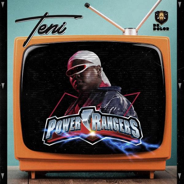 Teni Power Rangers Cover Art