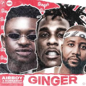 Airboy – Ginger Ft. Burna Boy, Cassper Nyovest