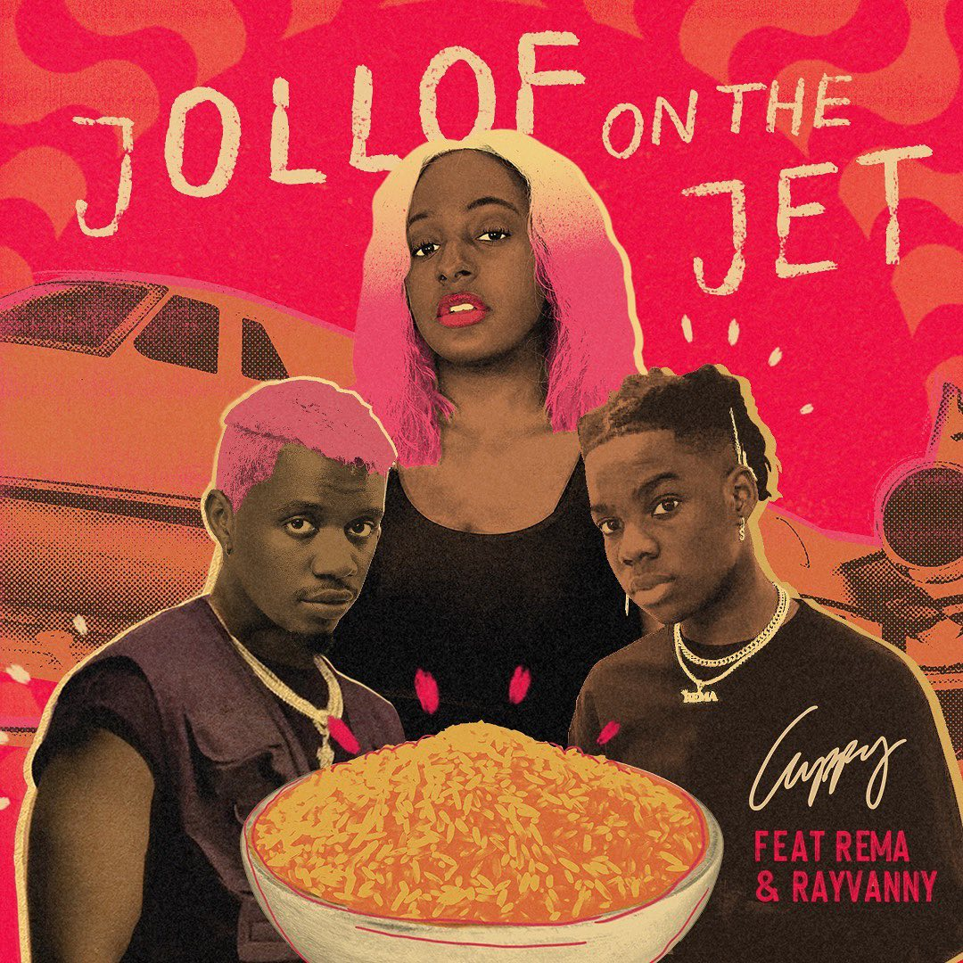 Cuppy – Jollof On The Jet ft. Rema, Rayvanny