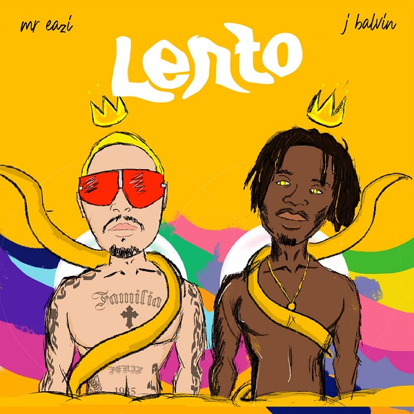 Mr Eazi – Lento ft. J Balvin